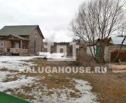 Продаётся новый дом, бревенчатый 48 м кв на земельном участке 23 сотки в д. Нижняя вырка.